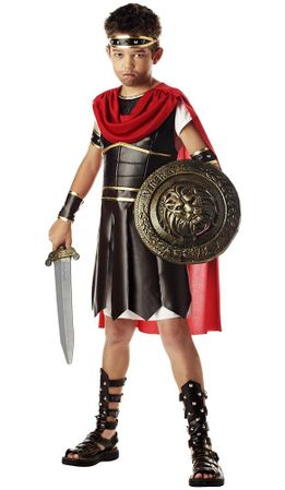 Child's Deluxe Gladiator Costume