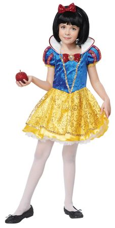 Child's Deluxe Snow White Costume