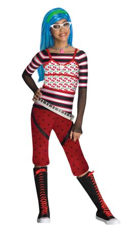 Child's Ghoulia Yelps Monster High Costume