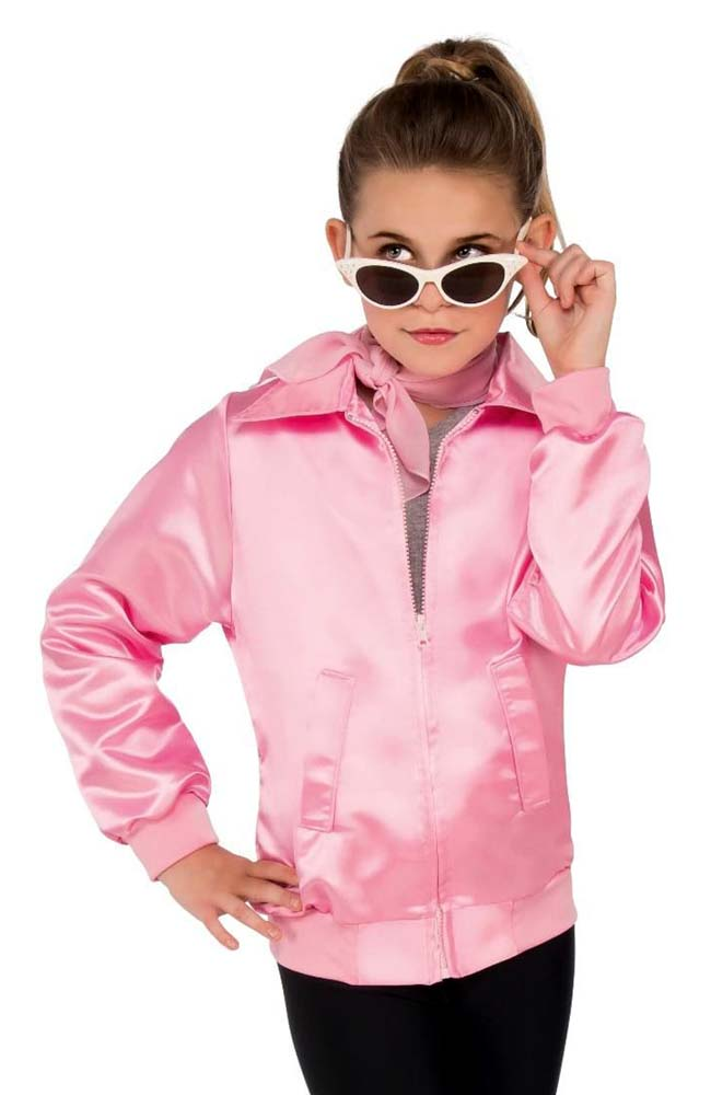 Childs Grease Pink Ladies Jacket Candy Apple Costumes Kids