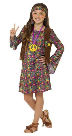 Child's Hippie Girl Costume