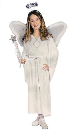Child's Ivory Angel Costume