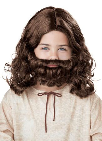 Child's Jesus Wig and Beard