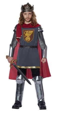 Child's Medieval King Costume