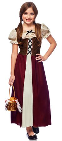 Child's Renaissance Peasant Maiden Costume