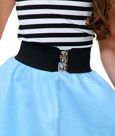 Child's Retro Elastic Cinch Belt