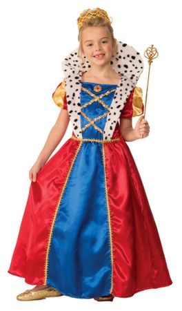 Child's Royal Queen Costume
