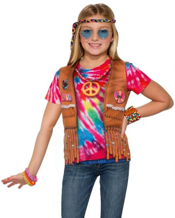 Child's Sublimation Printed Hippie Tee Shirt