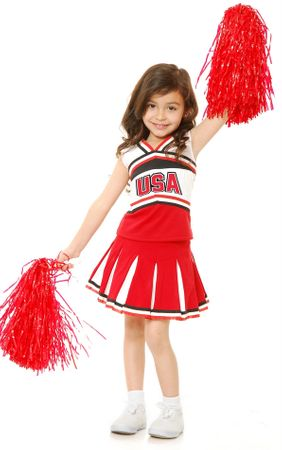 Child's USA Cheerleader Costume