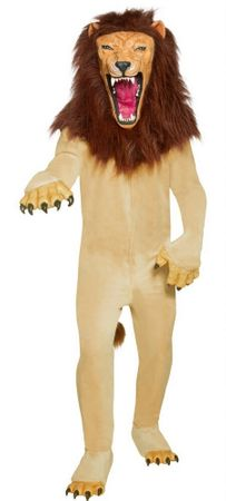 Cirque Sinister Adult Vicious Lion Costume