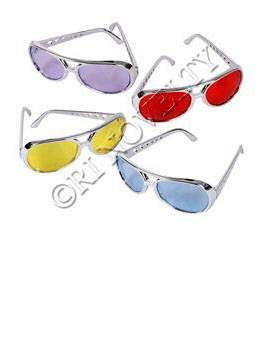 Color Lens Rock Star Sunglasses