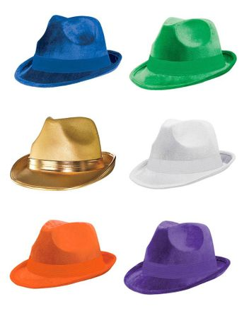 Colorful Fedora Hat - More Colors