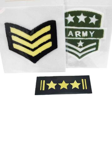 Costume Military Iron-On Patch