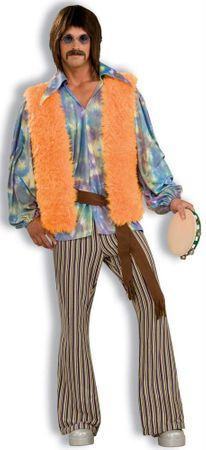 Deluxe Adult 60's Singer Costume, Size M/L