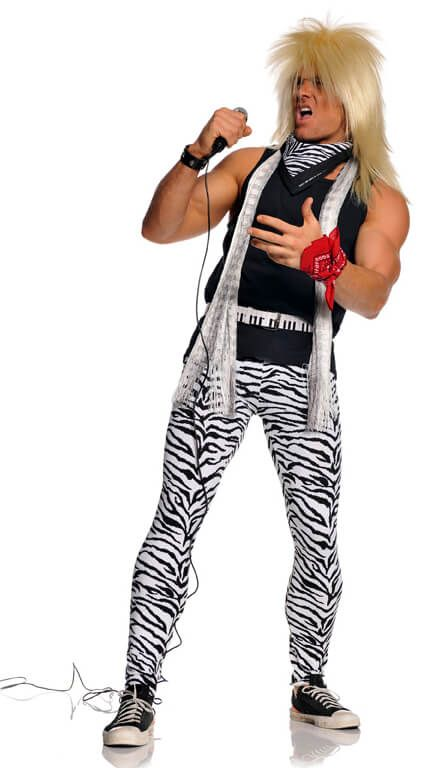 dd76688abef Plus Size Adult 80 s Rocker Costume - Candy Apple Costumes ...