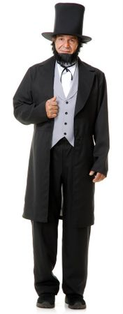 Deluxe Adult Abe Lincoln Costume