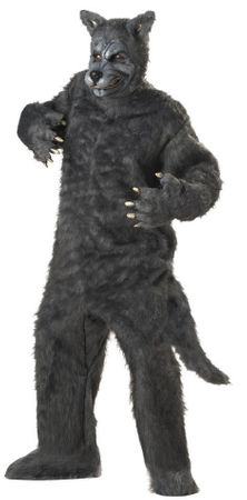 Deluxe Adult Big Bad Wolf Costume