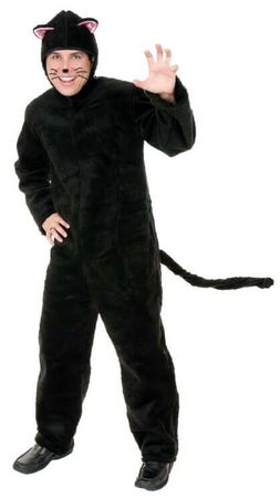 Plus Size Deluxe Black Cat Costume