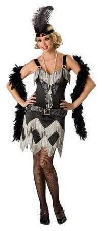 Deluxe Adult Charleston Cutie Flapper Costume