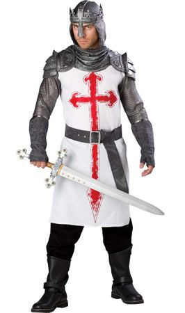 Deluxe Adult Crusader Knight Costume