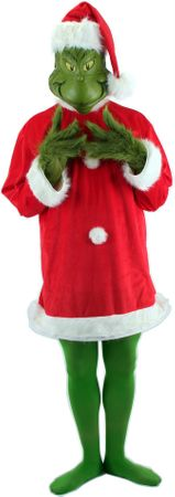 Deluxe Adult Dr. Seuss Grinch Costume