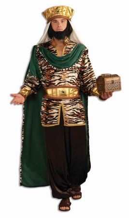 Deluxe Adult Emerald Wiseman Costume, Size M/L