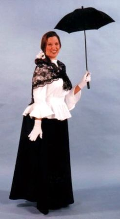 Deluxe Adult English Nanny Victorian Costume