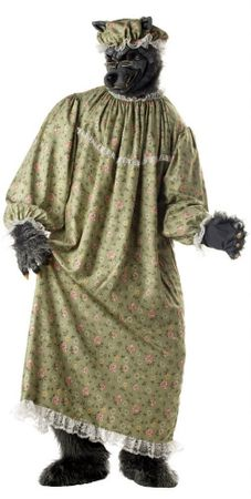 Deluxe Adult Granny Wolf Costume