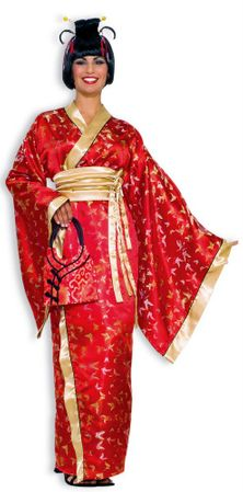 Deluxe Adult Madame Butterfly Costume, Size M/L