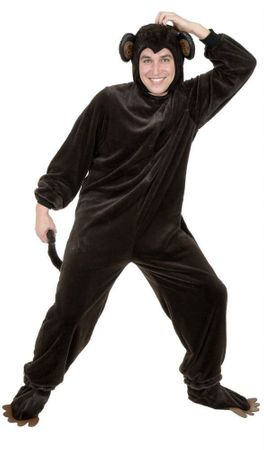 Deluxe Adult Monkey Costume
