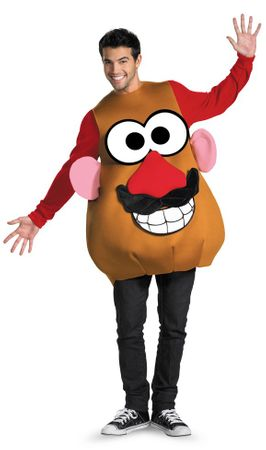 Deluxe Adult Mr. Potato Head Costume