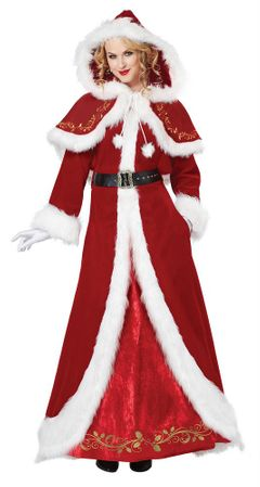 Deluxe Adult Mrs. Claus Costume