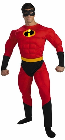 Deluxe Adult Muscle Chest Mr. Incredible Costume