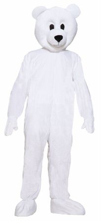 Deluxe Adult Norm the Nordic Polar Bear Mascot Costume