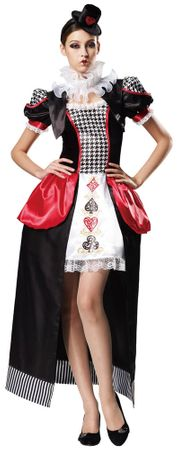 Deluxe Adult Poker Lady Costume