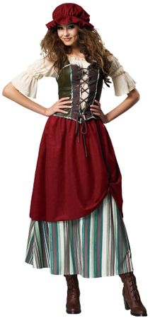 Deluxe Adult Renaissance Tavern Wench Costume