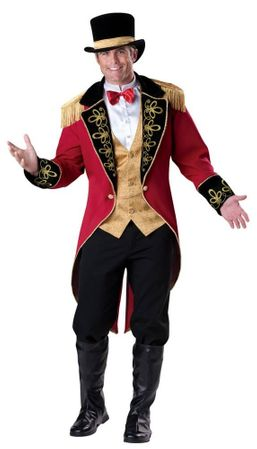 Deluxe Adult Ringmaster Costume