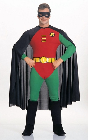 Deluxe Adult Robin Costume, Size Large
