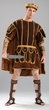 Deluxe Adult Roman Gladiator Costume, Size M/L