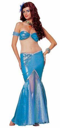 Deluxe Adult Sexy Mermaid Costume