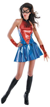 Deluxe Adult Sexy Spider Girl Costume