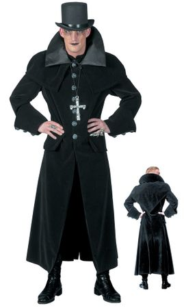 Deluxe Adult Victorian Goth Man Costume