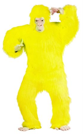 Deluxe Adult Yellow Gorilla Costume