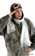 Deluxe Aviator Hat and Goggles Costume Kit