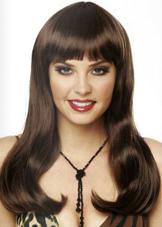 Deluxe Brown Mistress Wig