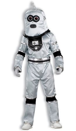 Deluxe Child's Silver Robot Costume