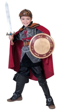 Deluxe Child Size Sir Rouge Knight Costume