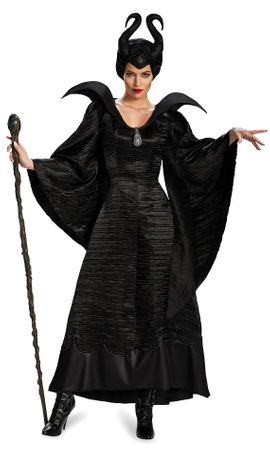 Deluxe Disney Maleficent Christening Gown Adult Costume