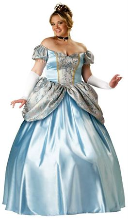 Plus Size Deluxe Enchanting Princess Costume