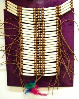 Deluxe Indian Warrior Necklace